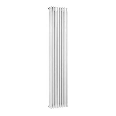 Hudson Reed Colosseum High Gloss Triple Column Traditional Radiator - 1800mm x 381mm